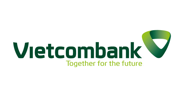 Logo mới của Vietcombank đã chuyển sang mẫu 3D với hình dáng trái tim cách điệu.