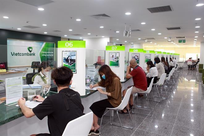 Vietcombank hiện thuộc top 5 ngân hàng có tổng tài sản lớn nhất tại Việt Nam.